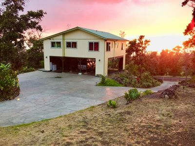 Photo for Rare find! private, clean, lovely home on 3acres in Ocean View Hawaii Big Island