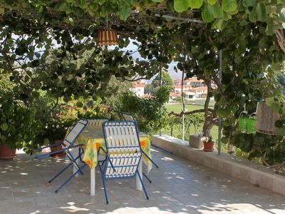 Photo for One bedroom apartment with terrace Postira, Brač (A-5659-a)