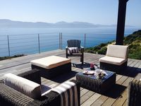 Luxurious villa with a breathtaking view over the golf of Sagone