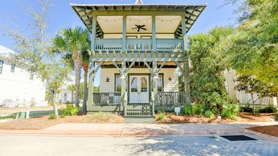 Photo for 4 bedroom, 4 bath luxury vacation home located in Cypress Dunes, Frog and Pony!