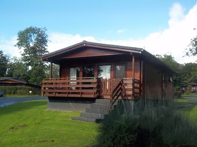 Photo for Bluebell Lodge 5 with Hot Tub, Newton Stewart