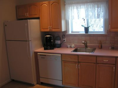 Full Kitchen with Keurig Coffee Maker, Pots, Pans, and Utensils