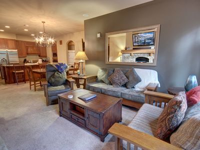 Photo for Lone Eagle 3001 Ski In Ski Out, Sleeps 9, walk to RR, Pool/Hot Tub, KING BED, WIFI By SummitCove Lodging
