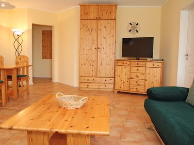 Photo for 2-R-app. Ostseetraum, ground floor, terrace - Excl. App. Baltic Sea dream, Wi-Fi, pets allowed