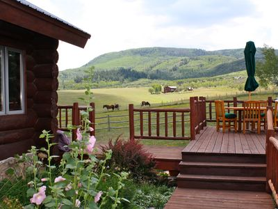 Photo for Mountain Ranch Retreat -Big Views!  12 min to the slopes!  Family Friendly!