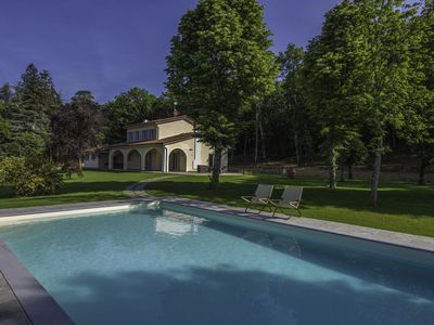 Photo for Villa with six bedroom - Poppi   Villa Saffo is a beautiful country house situated in a lovely position