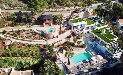 Photo for Villa with breathtaking sea view and Ibiza town, very attractive and luxurious