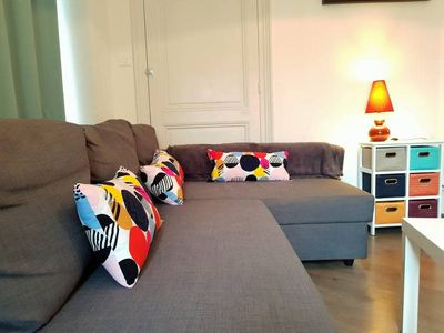 Photo for ❤️Come to discover this pretty apartment next to the Station/GEM #A0