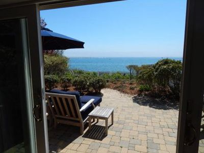 Photo for Quintessential Beach Condo With Private Beach Garden - Pet Friendly