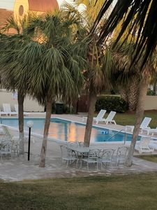 Photo for 2 Bedroom townhouse-beach side of Thomas Dr.