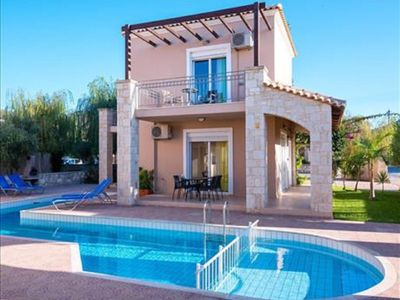 Photo for 2 bedroom Apartment, sleeps 4 in Nopigeia with Pool, Air Con and WiFi