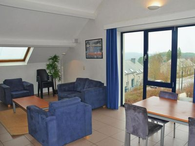 Photo for Apartment 581 m from the center of Durbuy with Parking, Internet, Pool, Garden (40705)