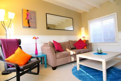 Welcome to your vacation home; a vibrant and lively beach getaway!