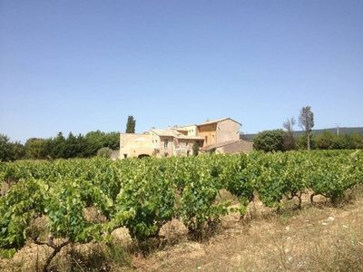 """Photo for Mas """"les Tridonnes"""" located in the middle of the vineyards in the Luberon park"""