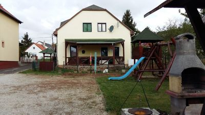 Photo for Cottage on Lake Balaton, 3 apartments