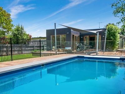 Photo for Canterbury Villa -  Luxury Retreat with heated pool, Foxtel, WiFi, OFP, Walk to beach and village