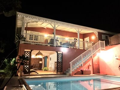 Photo for Family Creole House, 4 Bedrooms, Pool