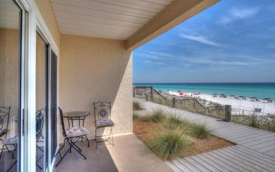 Photo for BEACHFRONT,WALKOUT 5 YARDS TO BEACH ACCESS ,1ST FLOOR, RECENTLY RENOVATED