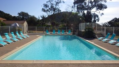 Photo for Marina Di Fautea Villa N ° 5, for 2 people, air-conditioned, swimming pool, 800 m from the beach
