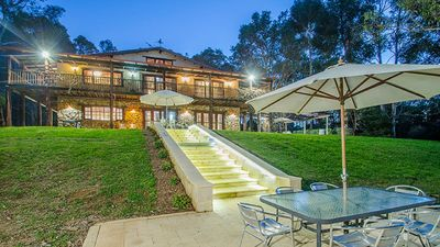Photo for ABBEYS RETREAT YALLINGUP Huge Colonial Aust stone mansion SLEEPS 16 pet friendly
