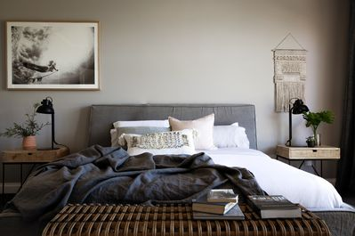 Master Bedroom with MySofitel king size bed. Wake up refreshed and relaxed.