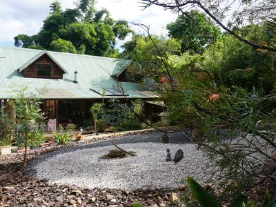 """Photo for Our paradise: """"Bambou"""" Retreat in Bellingen   pet friendly  in town 1 acre A gem"""