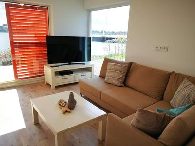 Photo for Ground-level holiday property in direct water position with all-day sun - Sandy beach in walking distance - Fantastic water view - Two terraces - Sauna and whirlpool tub