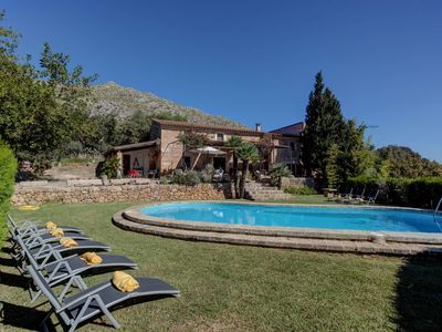 Photo for Finca Colonya Gran - Idyllic 4 bedroom villa in Pollensan Countryside - Wifi and Air conditioning