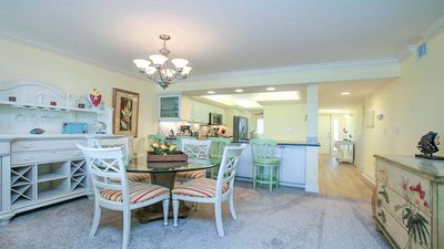 Compass Point #133  ALL NEW  Gulffront top floor and gorgeous, Private sundeck, pool and tennis