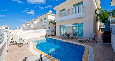 Photo for Protaras Deluxe Villa Enia is based only 200m from the beautiful resort of Protaras, on the south ea