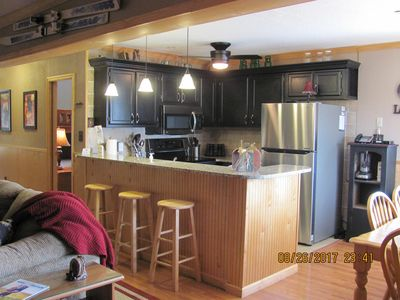 Photo for Snowshoe Condo - Deluxe 3BR/2Bath, Newly Upgraded, Sleeps 8, Steps To Village