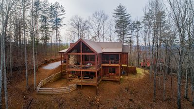 Photo for Sunrock VIew- Dog Friendly | Screened Porch | Master on Main | Unbelievable Views