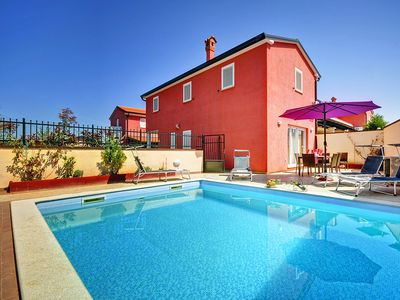 Photo for This 3-bedroom villa for up to 8 guests is located in Rovinj and has a private swimming pool, air-co