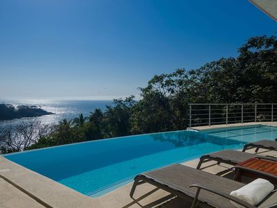 Photo for Welcome To Casa Castelli!  Wonderful Hillside Views Of Mismaloya Cove.