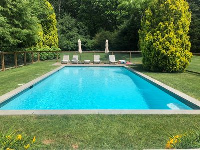 Photo for Gorgeous house, Heated pool - perfect for a family!
