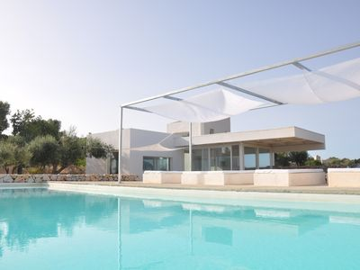 Photo for Villa Domus - stunning architecturally designed villa with infinity pool!