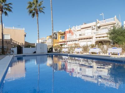 Photo for BUNGALOW 2 beds pool Zenia y playa and wifi included
