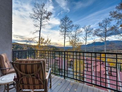 Photo for Townhome close to Mountain Village core, great views overlooking San Sophia range, private hot tub: Sophia Highlands