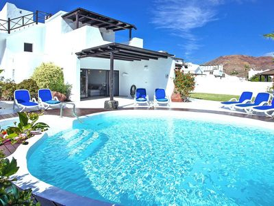 Photo for Holiday resort Villas Kamezi, Playa Blanca  in Lanzarote - 6 persons, 3 bedrooms