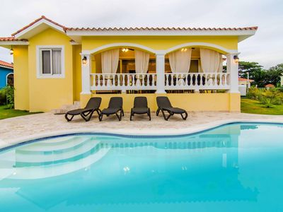 Photo for Oceanfront 2 BDR villa. Privacy and safety. Guest friendly. All resort amenities