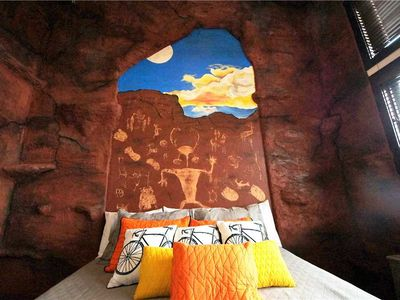 Photo for Downtown Condo in Moab with Rock Climbing Wall