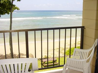 Photo for Beachfront Haleiwa Hideaway with High Speed Internet