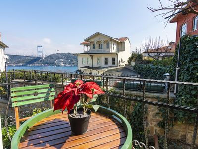 Photo for Stunning Duplex 4BR Home with Amazing Bosphorus View