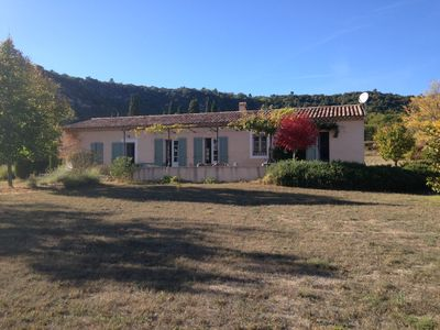 Photo for Provençal house independent. In the middle of a large garden of 6000 m2.