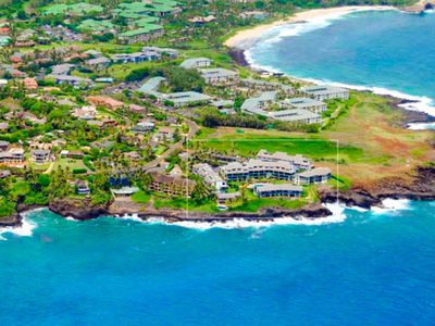 Photo for Beautiful 6 bedroom's for 12 ocean view Poipu villa!