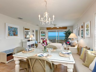 Photo for Gorgeous Sanibel Direct Gulf-Front Top Floor, Corner Unit - Paradise!