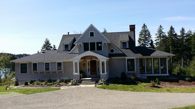 Photo for Gray Cove - spectacular, custom, waterfront home in midcoast Maine