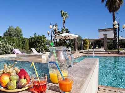 Photo for One bedroom Villa, sleeps 4 in Sant'Antonio with Pool, Air Con and WiFi