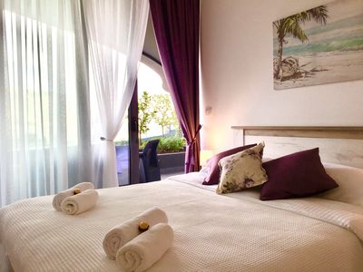 Photo for Lavender One bedroom Apartment, City centre near old town Budva, sea view