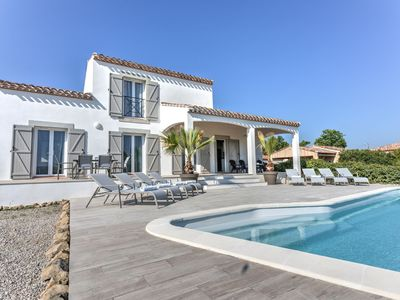 Photo for Spacious villa with private swimming pool, fantastic views and complete privacy